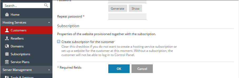 Customer_no_subscription