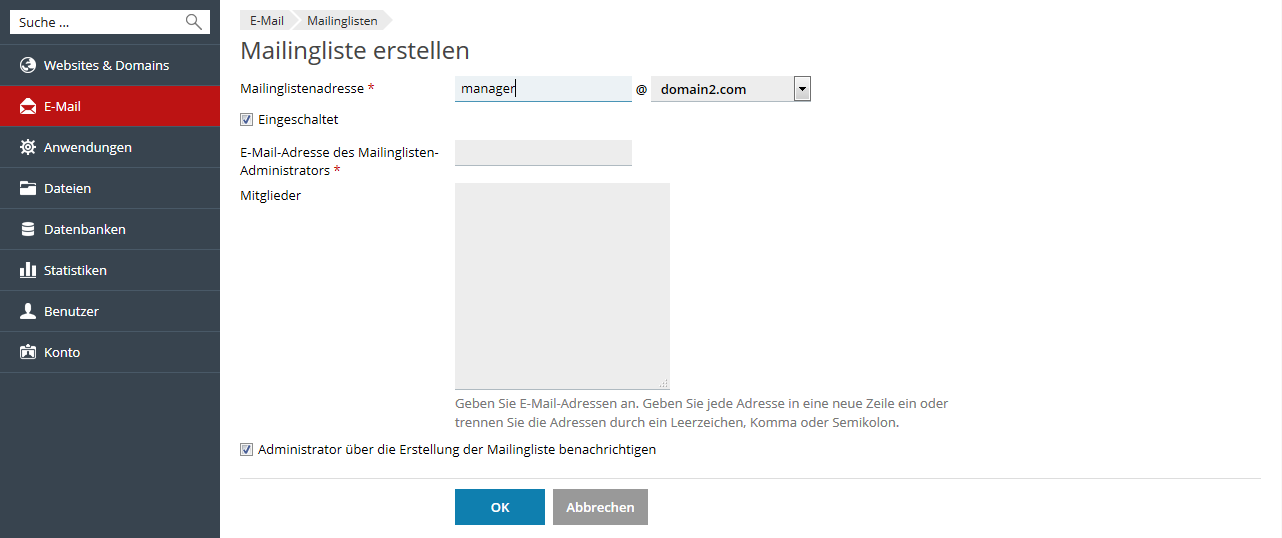 Create_Mailing_List