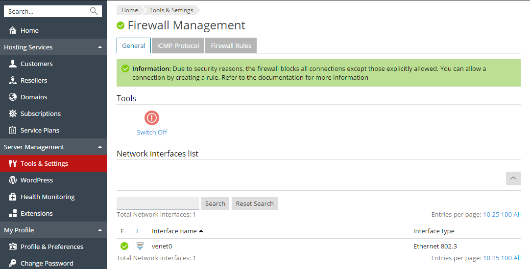 how to configure windows firewall to allow ports
