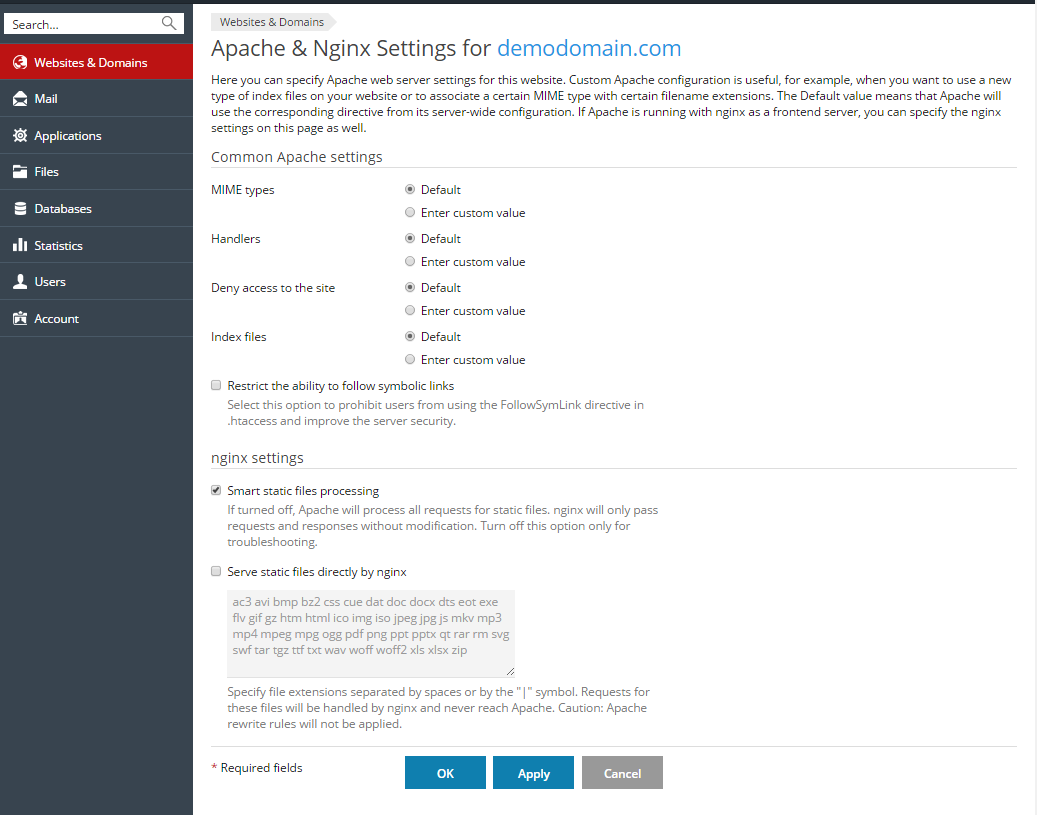 Apache web server settings apachenginx xflitez Gallery