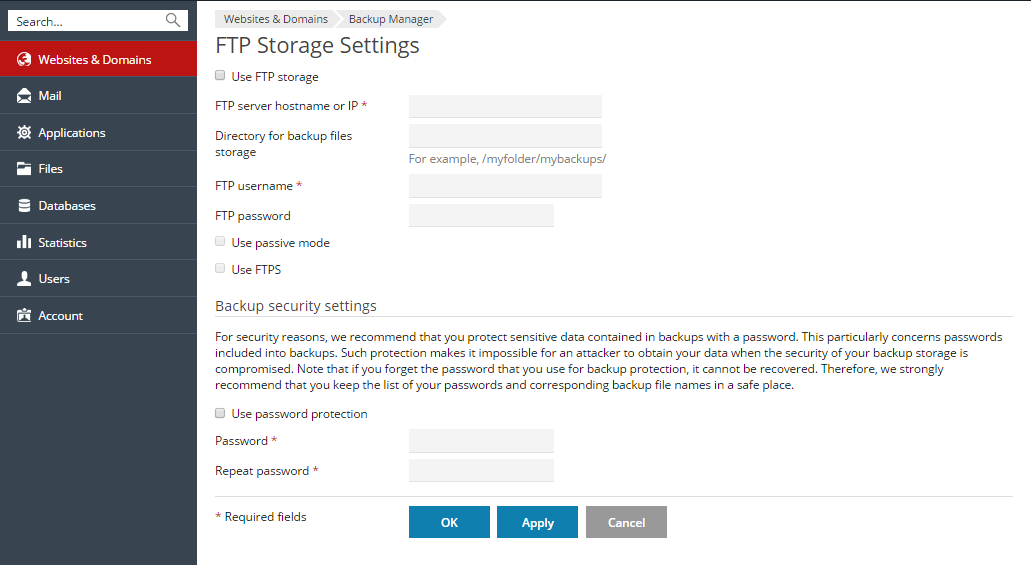 BackupManager_FTPStorageSettings