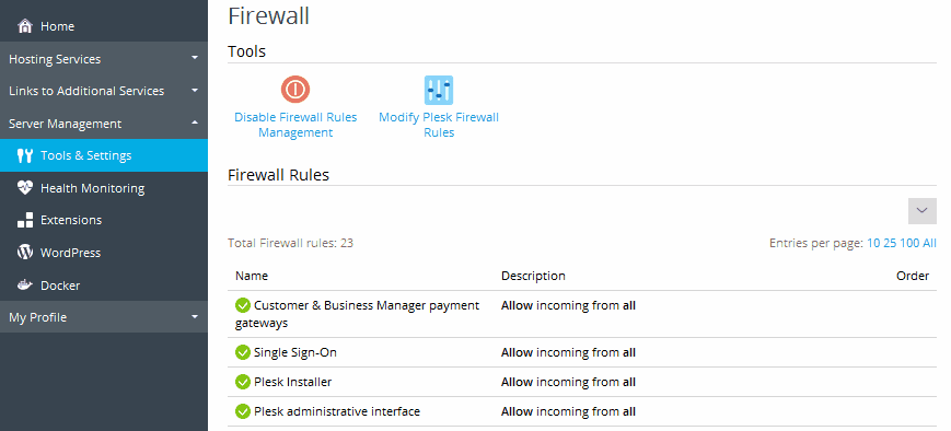 turn off firewall centos 7