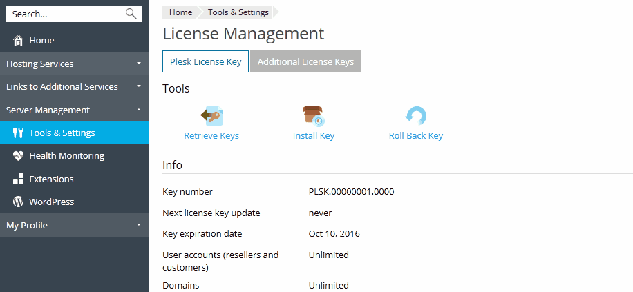 lost my power save license key