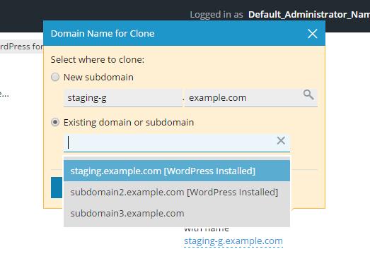 Klone et WordPress-nettsted 4