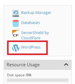Klone et WordPress-nettsted 1