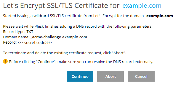 Getting Free Wildcard SSL/TLS Certificates from Let's Encrypt