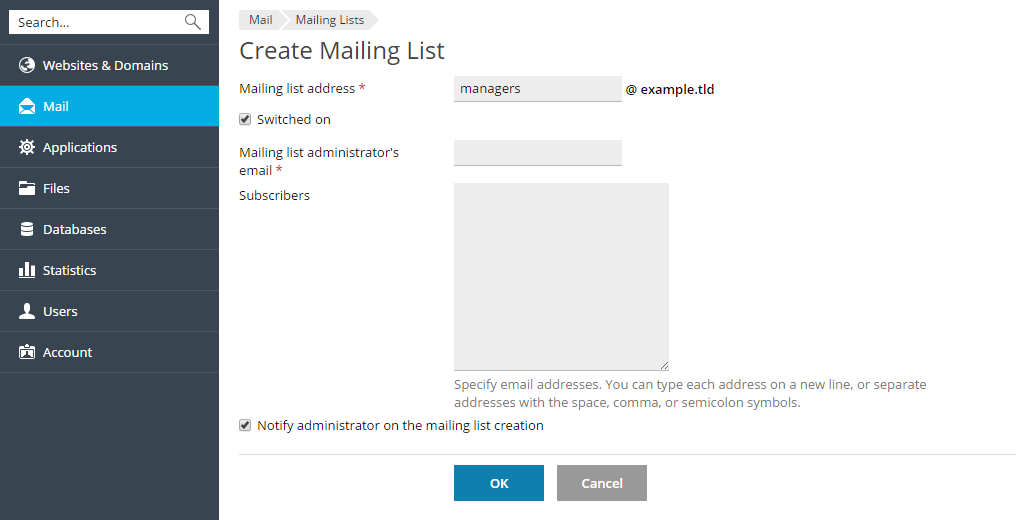Using Mailing Lists (Windows)