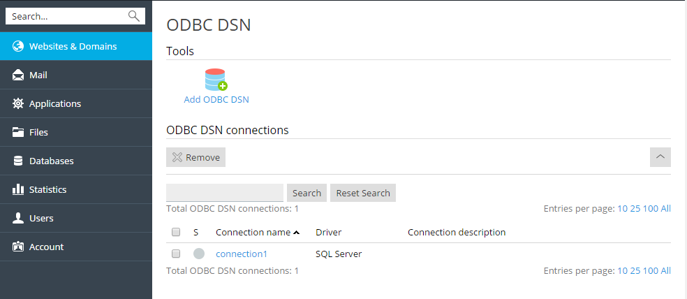 Accessing Databases with ODBC (Windows)