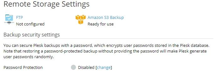 Configuring Remote Storage