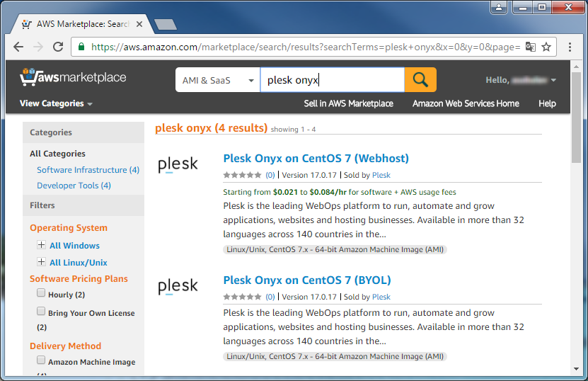 Installing Plesk on Amazon EC2