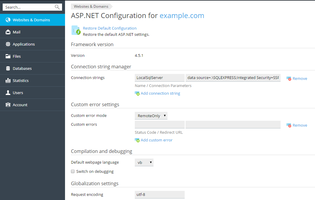 asp net threading settings essay Learn aspnet starting from environment multi threading aspnet the behavior of an aspnet application is affected by different settings in the.