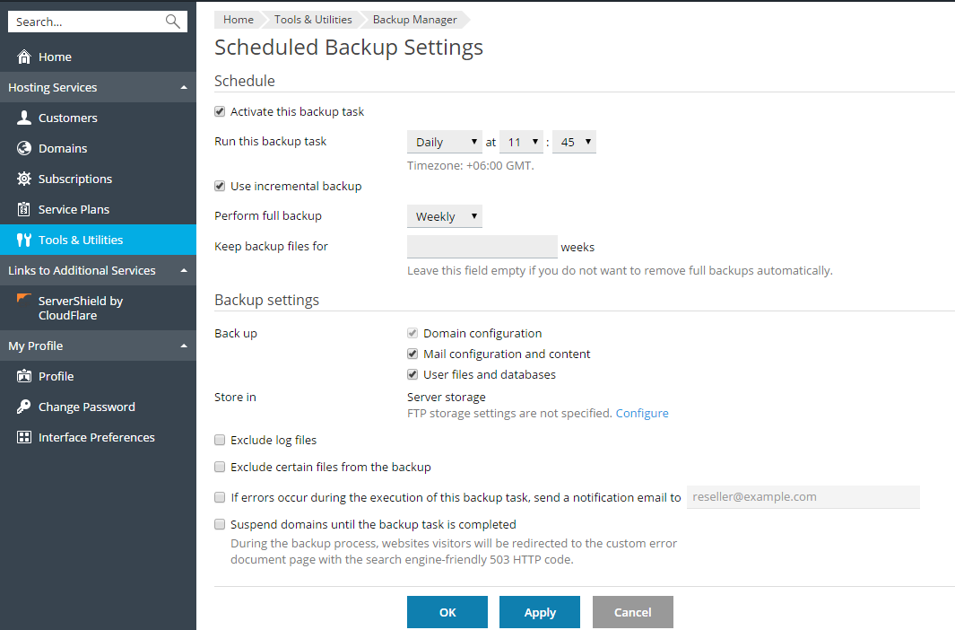 image-Scheduled-backup