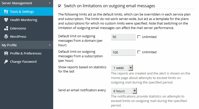 Switch_limitations