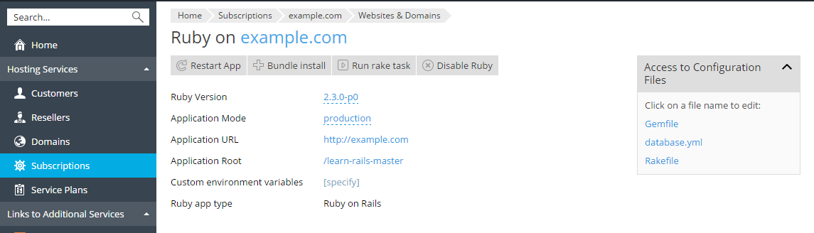 image-Ruby-application