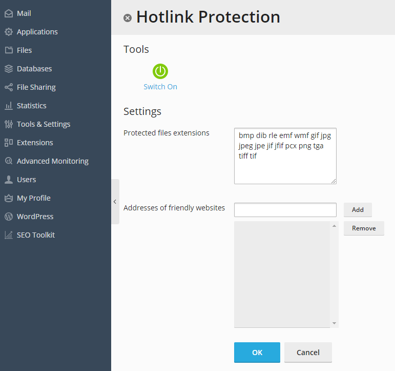 image-Hotlink-Protection