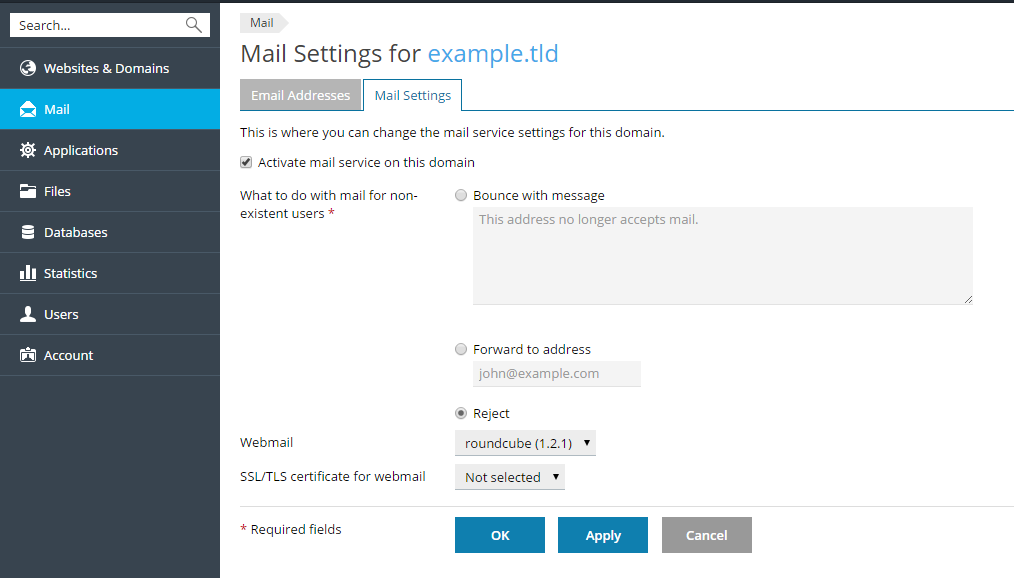 image-Mail-settings