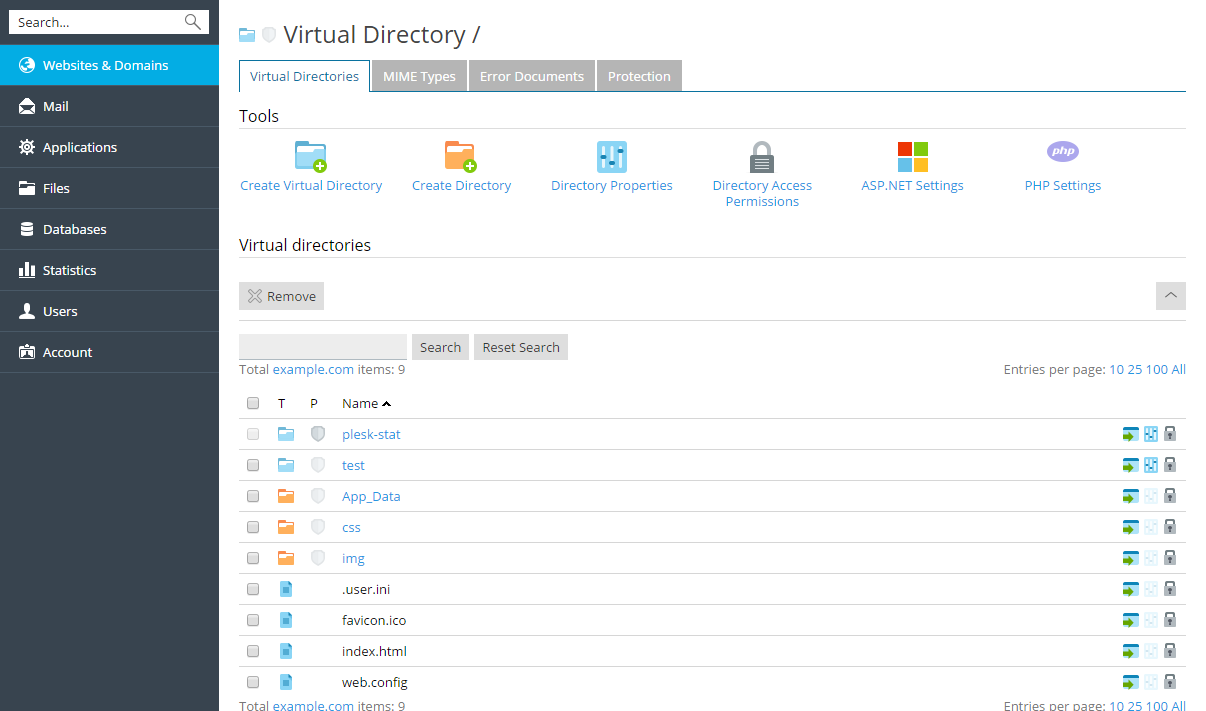 image-Virtual-Directories